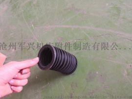 保护活塞杆的伸缩式圆筒保护套 丝杠防护罩 军兴制造