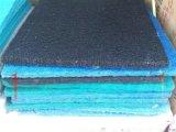 廠家供應藍色水族過濾棉,游泳池藤棉