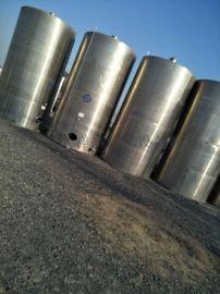 二手不锈钢储罐316不锈钢搅拌罐储奶罐玻璃钢罐
