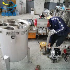 6袋多袋式过滤器 袋式过滤系统 不锈钢袋式过滤器