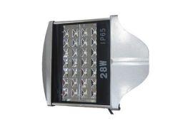 LED路灯头28W平板路灯头灯具大功率LED路灯头外壳成品厂家直销