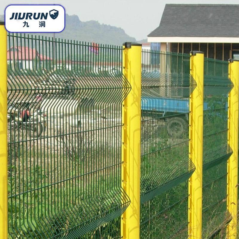 三角折弯护栏 小区市政护栏网 社区防护网