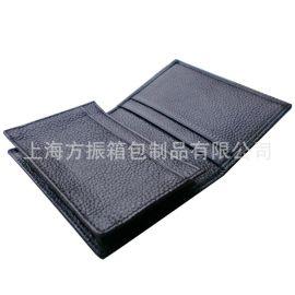 上海定制**真皮名片夹 名片包 可添加logo