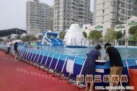 山西运城支架水池小型水上乐园受欢迎