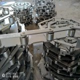 乾德定做不锈钢工业滚子链条 传送弯板链条厂家