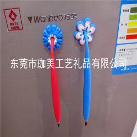 卡通PVC软胶笔套 塑胶笔套 广告笔套 品质好