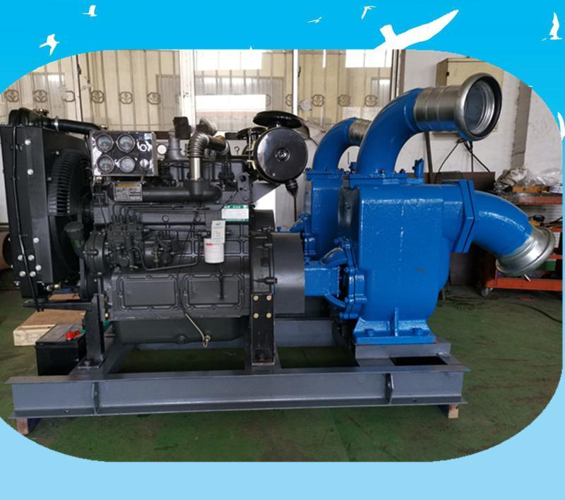 200立方自吸式防汛移动泵车 300立方污水处理柴油机水泵