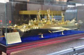 青岛纯铜军舰模型