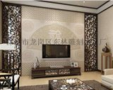 雕刻廠家專業定製客廳背景牆時尚通花板鏤空板