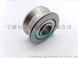不锈钢SLV201-14ZZ  槽导轨滚轮