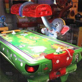 小象曲棍球电玩设备双人气垫球儿童乐园游戏机