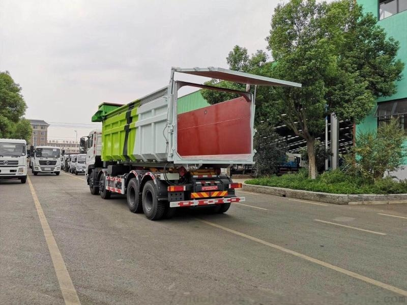 东风天锦16吨勾臂车 散装垃圾车