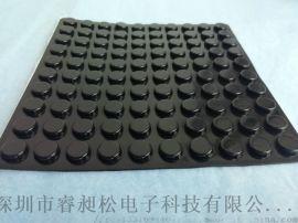 自粘黑色脚垫 硅胶橡胶脚垫 家用电器座椅防滑耐磨