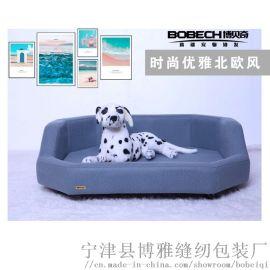 寵物牀,高端寵物沙發,實木寵物窩,狗窩