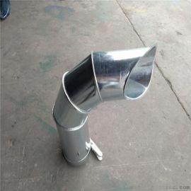 广东省通畅螺旋风管厂专业生产饭店 厨房排烟管道