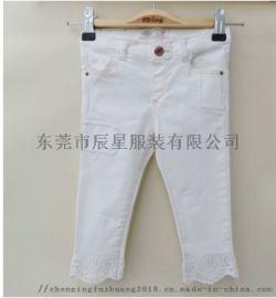 婴儿牛仔裤 宝宝新款儿童裤女童牛仔裤
