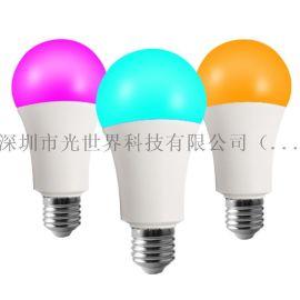 塗鴉wifi球泡燈智慧球泡藍牙球泡過FCC