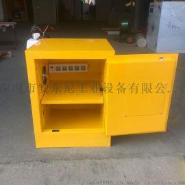 锂电池防火防爆储存柜充电柜电动车电池充电防爆安全柜