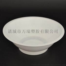 潍坊400ml扣肉碗/一次性白色pp扣天下塑料碗