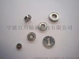 R3ZZ,R3-2RS 微型管状电机配套专用轴承
