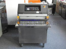 佳河牌DZQ-600E台式平板外抽真空包装机