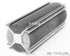 兴发铝业铝型材散热器