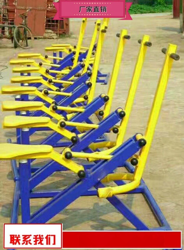 户外健身器材生产厂家 塑木健身路径工厂价直销