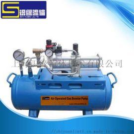 小型气压泵气体增压泵压缩空气加压系统定制空气增压器