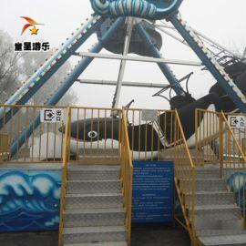 童星游乐厂家 供应北京游乐场新型游乐设备海盗船