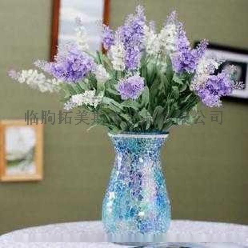玻璃马赛克花瓶
