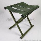 折叠式马扎军绿折叠凳烧烤凳野外拉练便携凳