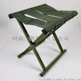 折叠式马扎 绿折叠凳烧烤凳野外拉练便携凳