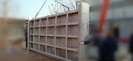 6米x2米钢制机闸一体闸门 远航