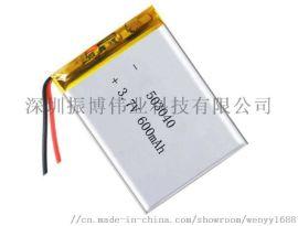 厂家直销蓝牙音响锂电池3.7V 600mAh
