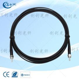 SMA905塑料光纤跳线海洋光学光纤连接器光谱仪功率传感光纤连接器