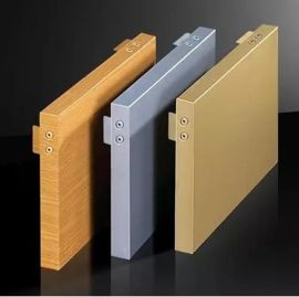 厂家环保幕墙铝单板木纹铝单板氟碳铝单板规格定制