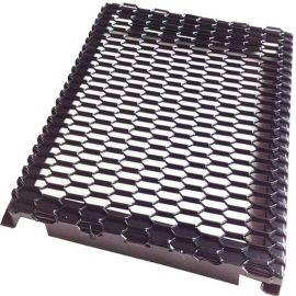 厂家直销冲孔铝单板铝网天花菱型铝网格三角铝网板
