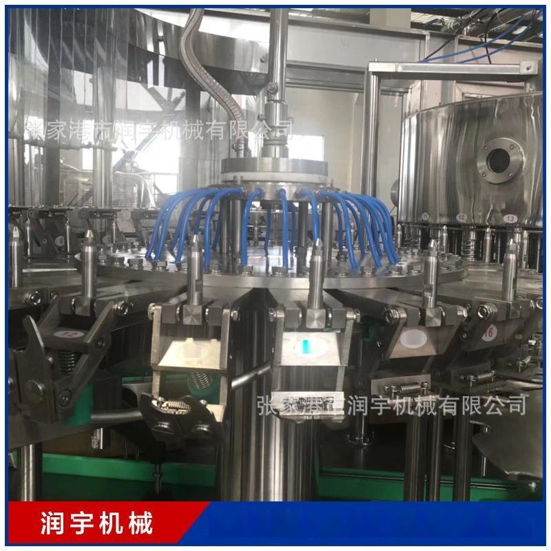 润宇 浓浆灌装机口服液24头灌装设备生产线 果汁灌装机