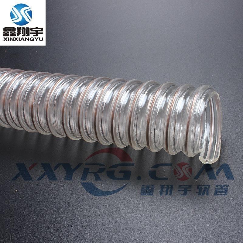 深圳鑫翔宇厂家生产1.5mm耐磨PCB钻孔机吸尘软管pu耐磨软管76