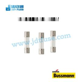 BUSSMANN玻璃管保险丝5*20MM 250V 0.4A 保险丝管S506-400-R慢断