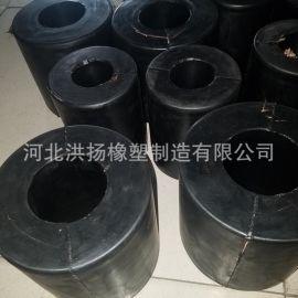 生产供应 高耐磨加布橡胶减震弹簧 耐磨高弹橡胶减震柱 可定做