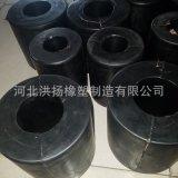 生產供應 高耐磨加布橡膠減震彈簧 耐磨高彈橡膠減震柱 可定做