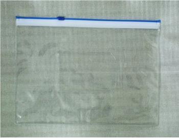PVC夹式拉链袋 文件袋