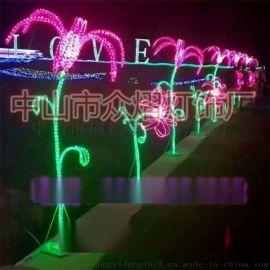 立體聖誕天使吹喇叭造型燈 LED戶外節日亮化