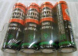VINNIC松柏SUM3 R6 AA五号碳性铁壳电池