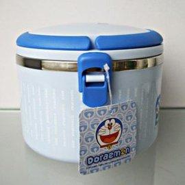 哆啦A梦便当盒 卡通双层不锈钢保温饭盒