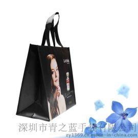 深圳厂家定做无纺布覆膜手提环保购物袋