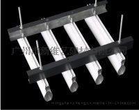 供应U形铝挂片 铝方通吊顶材料 广东铝格栅厂家直销