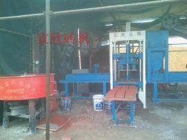 河南3-15免烧砖机 水泥砖机设备