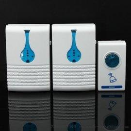 厂家直销501K3 精品酒店 家用一拖二无线门铃 远距离遥控智能家居